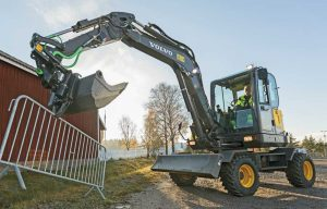 Let's Roll: Wheeled Excavators Are Cruising into More North American Equipment Fleets