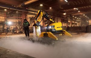 Brokk Introduces Atomized Water Mist Dust Suppression System