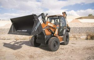 Details on CASE's Project Zeus, the 580 EV, the Industry's First Fully Electric Backhoe Loader