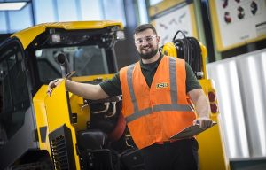 JCB Apprentice Selected as Savannah Tech Goal Student of the Year