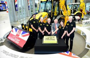 Historic Day as 750,000th Backhoe Rolls Off JCB Production Line