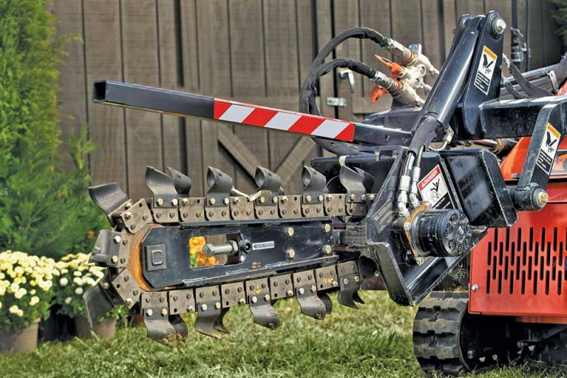 Ditch Witch SK5TR Trencher
