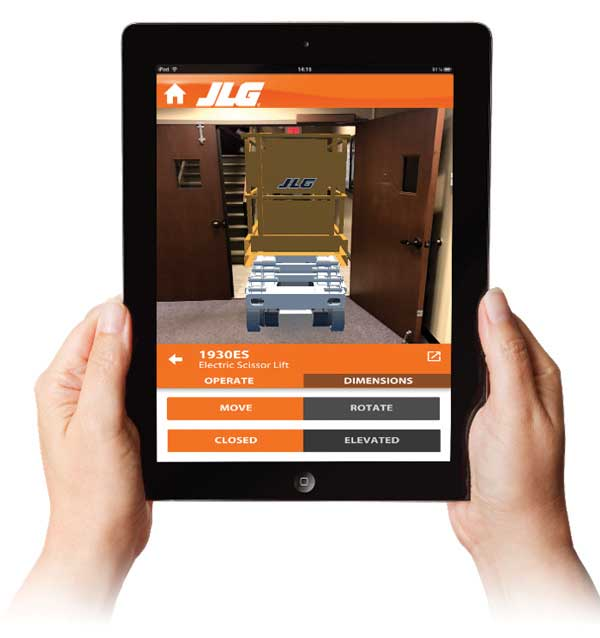 JLG Augmented Realty App