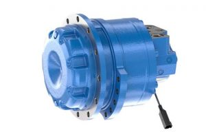 This New MCR8T Radial Piston Motor from Rexroth Is Ideal for Compact Track Loaders
