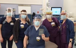 Volvo CE Produces and Donates PPE to Local Healthcare Workers