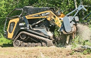 Optimized for Forestry Work: Six Tips to Outfit a Compact Track Loader for Vegetation Management Applications
