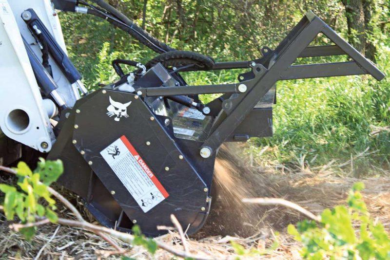Bobcat Forestry Cutter