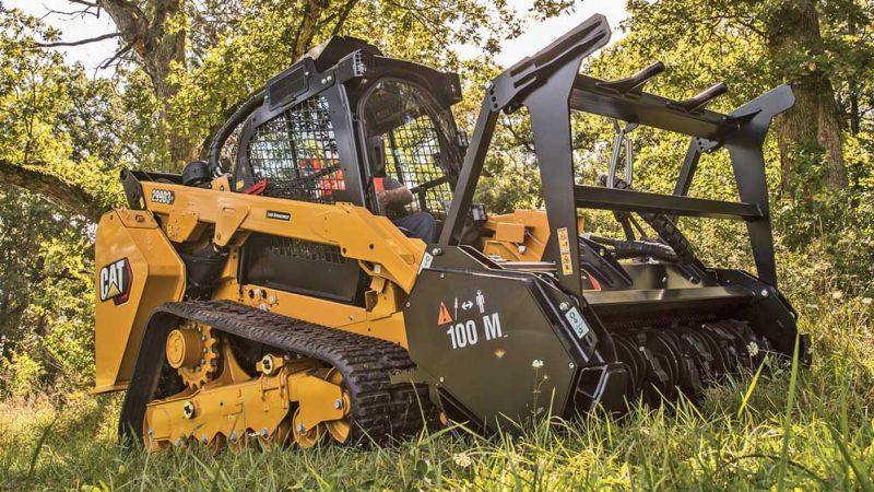 Cat 299D3 track loader