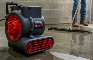 RIDGID NXT Wet/Dry Vac Line Adds New Air Mover for Quick Drying of Large Areas