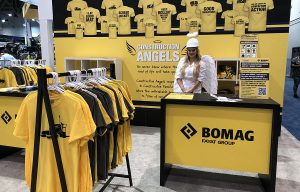 BOMAG Americas Supports Construction Angels Charity with Promotional Campaign at CONEXPO/CON-AGG 2020