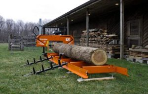 Friday Fun: We Want this Hobbyist LX25 Portable Sawmill from Wood-Mizer