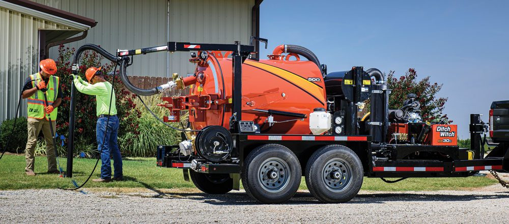 Ditch Witch HX30G vacuum excavator