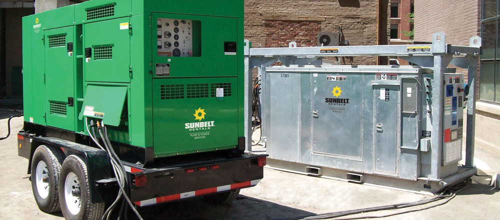towable diesel generators