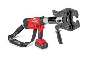 RIDGID RP 342-XL Press Tool Allows Contractors to Press Any Material in Every Size