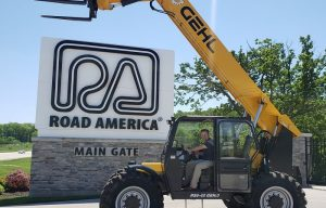 Gehl and Manitou Support Iconic Road America in Elkhart Lake, Wisconsin