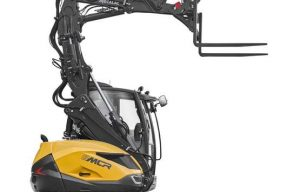 Mecalac Introduces Speedy New MCR Series 'Skid-Excavators'