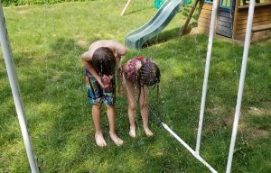 Kid's Fun: Cool Off with a PVC Sprinkler