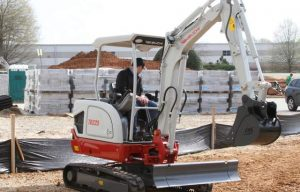 Takeuchi Launches TB225 Compact Excavator with All-Steel Construction/Best-in-Class Engine Output