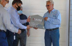 CASE Construction Equipment Donates Skid Steer to Habitat for Humanity