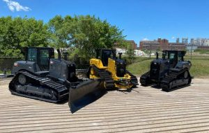These Black Commemorative Cat Dozers Look Pretty Wicked