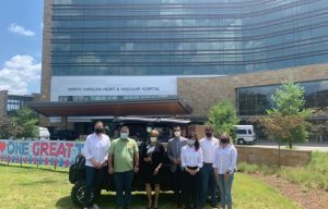 Kioti Tractor Donates 10,000 N-95 Masks and a K9 UTV to UNC REX Healthcare