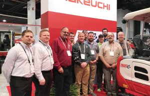 Takeuchi Awards Star Equipment as Central Midwest Dealer of the Year