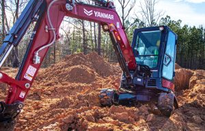 Watch: YANMAR Debuts New Premium Red Color Scheme for Its Compact Equipment