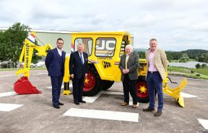 JCB Restores Vintage Machine to Thank Loyal Customer