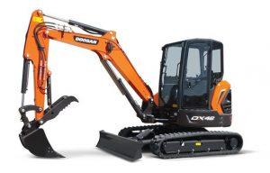 Doosan Introduces Updated Mini Excavators