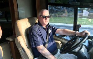 """AED Completes the First Leg of the """"Driving for Dealers"""" Bus Tour"""