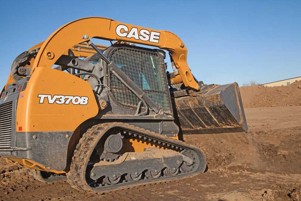 Case TV370B track loader