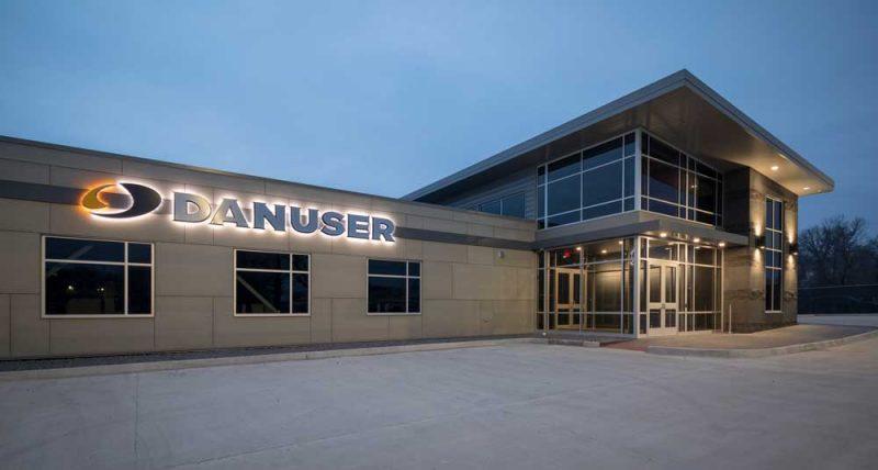 Danuser new corporate office