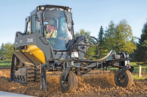 Making Green: For Landscapers, the Right Skid Steer or Track Loader Can Make or Break a Business