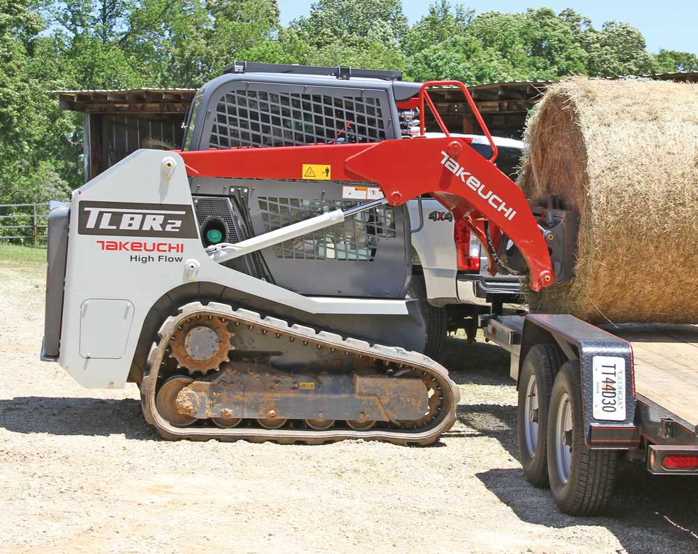 Takeuch TL8R2 track loader
