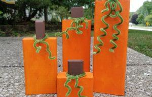 Who Needs a Pumpkin Patch? Build Your Own Pumpkin!