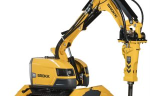 This Cool, Remote-Control Brokk 200 Is Used for Ultra-Deep Mining Applications