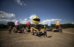 It's Back! Caterpillar Revives Its Trial Video Series with a PAC-MAN Twist