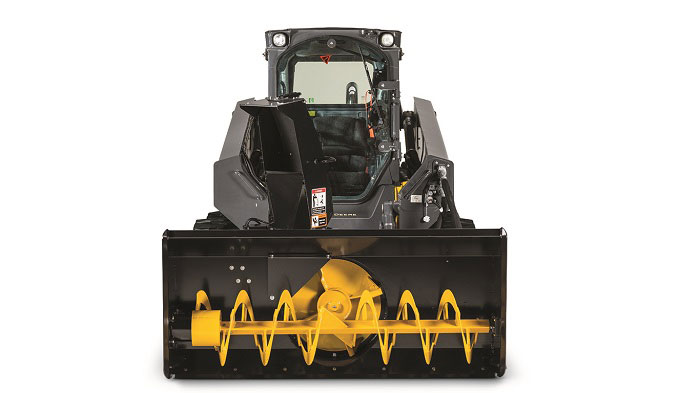 snow blower attachment