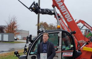 Girouard Equipment Is Awarded Top Performing Dealer Award for the Manitou Brand (Congrats)