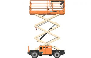JLG Launches 26- and 33-ft Rough-Terrain and Electric Rough Terrain Scissor Lifts