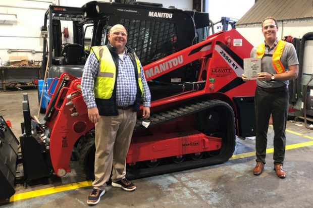 BC's Leavitt Machinery Is Awarded as a Top Performing Dealer for the Manitou Brand