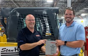 Dealer Awards Keep Coming: SD's Stan Houston Equipment Awarded Top Performing Dealer for Gehl Brand