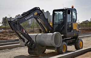 Five Reasons to Consider Compact Wheeled Excavators