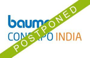 bauma CONEXPO INDIA Is Postponed to April 2021