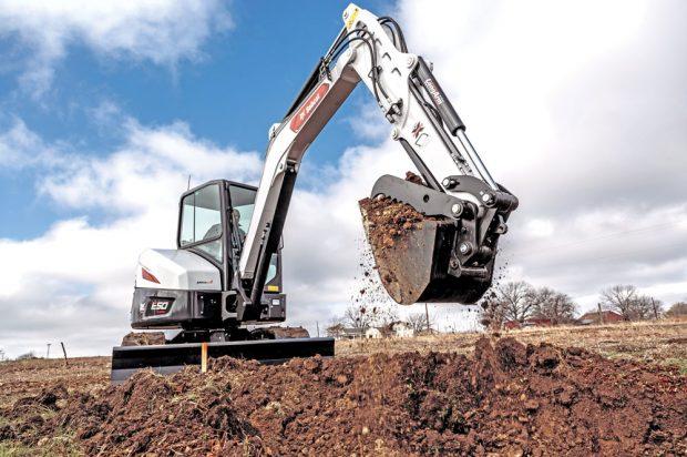 Electric Ex: Bobcat Turns to Green Machine to Help Build then Sell Alt-Propulsion Excavators