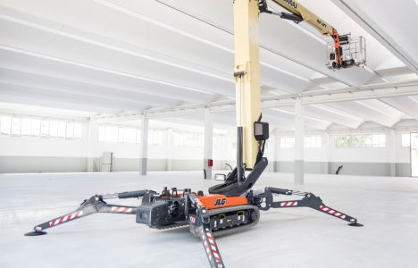 Up and Over: Compact Crawler Boom Rentals Help Crews Reach New Heights