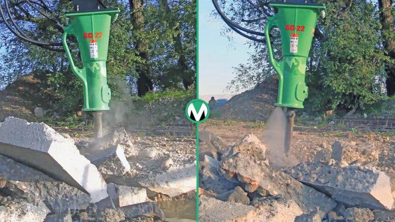 Montabert Water Mist System