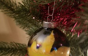 Friday Fun: Let's Make Some Paint Swirl Ornaments