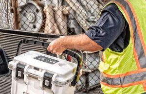 Lunch Gear: Pelican's 14QT Personal Cooler Separates Wets and Dry Storage and Is Cool for Construction