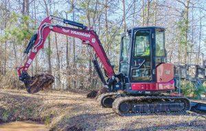 Innovative Iron Awards 2020: Yanmar's SV40 Compact Excavator